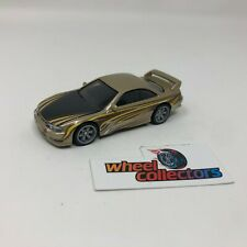 Nissan 240SX S14 w/ Rubber Tires * Hot Wheels LOOSE 1:64 Diorama * F1162