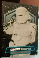 TOPPS 2016 STAR WARS SERIES 2 POWER OF THE FIRST ORDER SNOWTROOPER #7 CARD