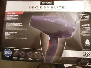 Andis Professional Pro Dry Elite Tourmaline Ionic  Hair Dryer,** Free  Shipping