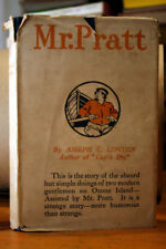 MR. PRATT by Joseph C. Lincoln 1911 HC/DJ A.L. Burt Hardcover w/ DUST JACKET