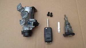 VW GOLF MK5 2004-2009 IGNITION BARREL DOOR LOCK  WITH KEY 1K0905851B