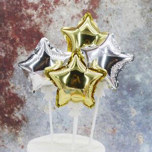 1PCS Mini Balloon Star Love Foil Balloon Wedding Birthday Party Decoration Gift