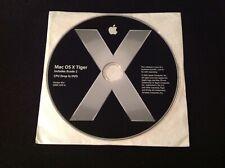 APPLE MAC OS X TIGER 10.4 DISC GENUINE