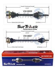 For VW Scirocco Cabriolet 85-93 FWD 2 Front CV Axle Shafts SurTrack Set