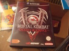 Jeu Mortal Kombat Deadly Alliance / Nintendo Gamecube / FRA / Complet / TBE