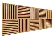 Maple Acoustic Panels - 4 Square Feet (4 Panels Included)