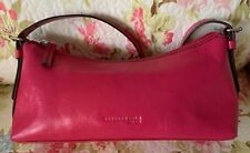 Kenneth Cole New York Hot Pink Leat