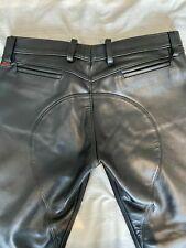 Rob Berlin  Leather sadle Jeans