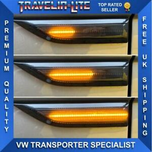 T6 Transporter Dynamic Flowing LED Side Repeaters Smoked Great Quality 15 On