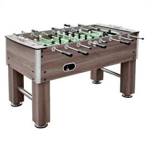 Driftwood 56-in Foosball Soccer Football Futbol Fussball Table Premium Quality