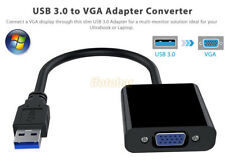 USB 3.0 To VGA Cable Adapter Multi-display Video Converter for Windows 7/8