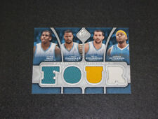 2009-10 Upper Deck SP Foursome Jersey Hornets Chris Paul Peja Stojakovic 108/199