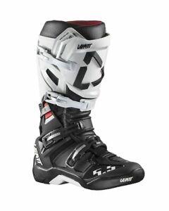Leatt Boot GPX 5.5 FlexLock - White/Black - Motocross Off-Road
