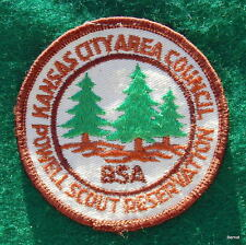 BOY SCOUT CAMP PATCH - POWELL SCOUT RESERVATION -KANSAS CITY AREA COUNCIL
