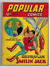 POPULAR COMICS #67 - SMILIN' JACK - GASOLINE ALLEY - DELL COMICS/1941
