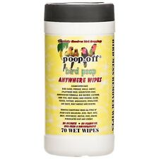 PoopOff Bird Poop Anywhere Wipes 70 count