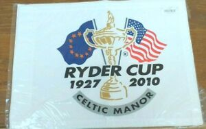 Ryder Cup 2010 Pin Flag Mint Condition