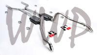 "Dual 2.5"" CrossMember Back Exhaust /W Mufflers 62-67 Chevrolet/Chevy II Nova V8"