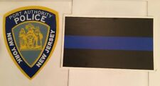 NY NJ Port Authority Police *InWindshield *Authentic Decal +BlueLine Sticker **O