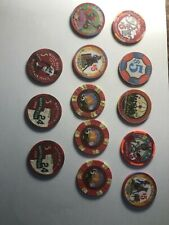 Lot of 13 $5 Limited Edition Casino Chips Mint Condition (Vegas and AC)