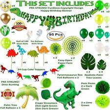 Dinosaur Party Supplies Birthday Decorations for Boys and Girls | Balloon Arch