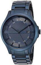 Armani Exchange Men's Hampton Navy Blue Dial Watch AX2193