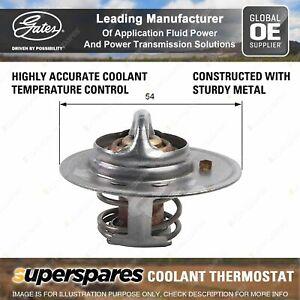 Gates Coolant Thermostat + Gaskets & Seals for Nissan 280 Zx Zxt HGS130 L28E 2.8