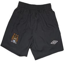 Manchester City infantil Shorts de entrenamiento Umbro Fútbol Gris 2010-11 S
