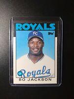 1986 Topps Traded Bo Jackson RC #50T  Kansas City Royals