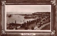 Kent -  WESTGATE ON SEA,  The Sands  - Real Photo, Davidson Brothers