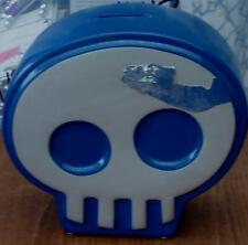 Circo Blue Skull Change Bank - New with some Cosmetic Damage (Paint Peeling)