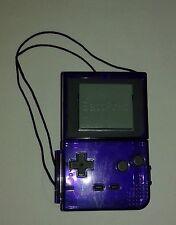 Vintage Pokemon BattPoke Clear Purple Pokeball Blasters No Battle Discs Tomy 98