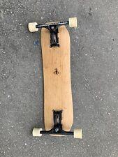 Freebord Skateboard - Ride the skateboard like a snowboard! No reserve auction!