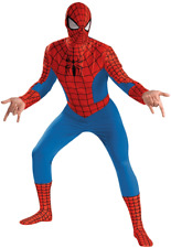 Amazing Spider-Man Deluxe Costume INCLUDES BOOT COVERS 42-46 Disguise 50185 NEW