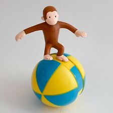 Curious George Rolling Balancing Ball 2000 Dairy Queen Kids Meal Toy 4.5�