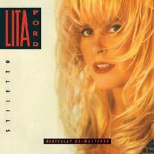 Lita Ford - Stiletto [New CD] Rmst