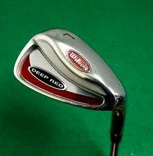 Wilson Deep Red Lob Wedge Steel Shaft Wilson Grip