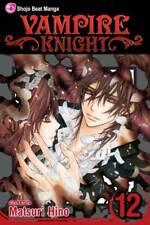 Vampire Knight Volume 12 by Matsuri Hino Softcover Graphic Novel