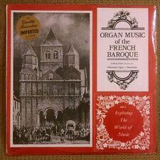 Organ Music of the French Baroque LP Ludwig Doerr Silbermann Organ SEALED