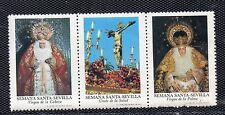 Viñetas con Imagenes Semana Santa Sevilla del año 1973 (CV-890)