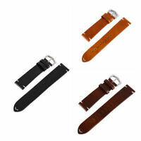 Great Leather Strap Watch Band Vintage Oil Wax Watch Strap Watchband Optional