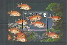 ASCENSION ISLANDS 2010 REEF FISH MINI SHEET SG,MS1068 U/M NH LOT 413A