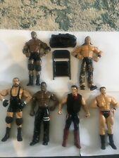 WWE ECW WWF WCW Wrestler Action Figures Lashley John thorn burke rob lot bundle