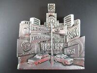 New York Magnet times Square Broadway 7 cm Poly Souvenir USA America, New