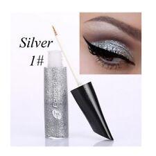 6color Liquid Eyeliner Eyeshadow Glitter Shimmer Pigment Professional Eye Makeup Silver
