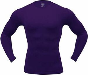 ARMEDES Men's Long Sleeve T-Shirt Baselayer Cool Dry Compression Top AR 52