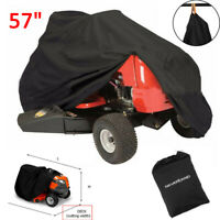 57'' Riding Lawn Mower Tractor Cover Garden Outdoor Yard UV Protector Waterproof