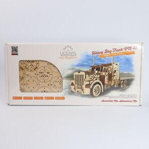 UGEARS V-Models 3D Puzzle Heavy Boy Truck VM-03 Mechanical Model - 541pcs