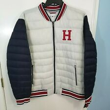 Tommy Hilfiger Men's Quilted Varsity Puffer Jacket Sz XXL - 159AN923