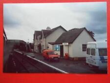 PHOTO  STRATHCARRON RAILWAY STATION 1985